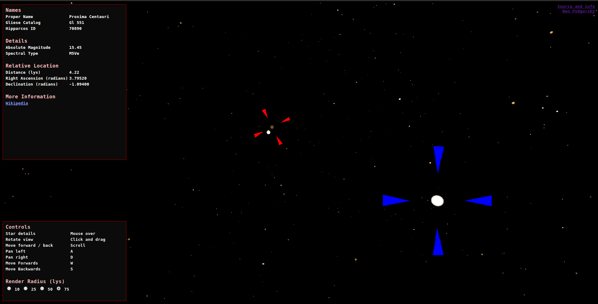 Procedural star rendering with three js and WebGL shaders – Ben