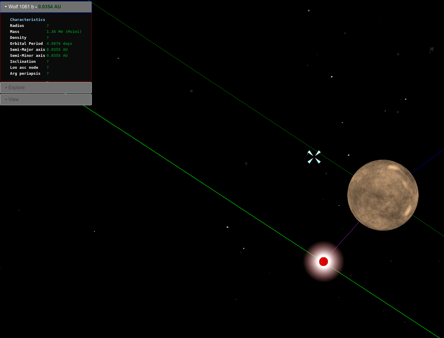 D Map Of Solar Neighborhood Using Threejs Again Ben Podgursky - Solar system map 3d